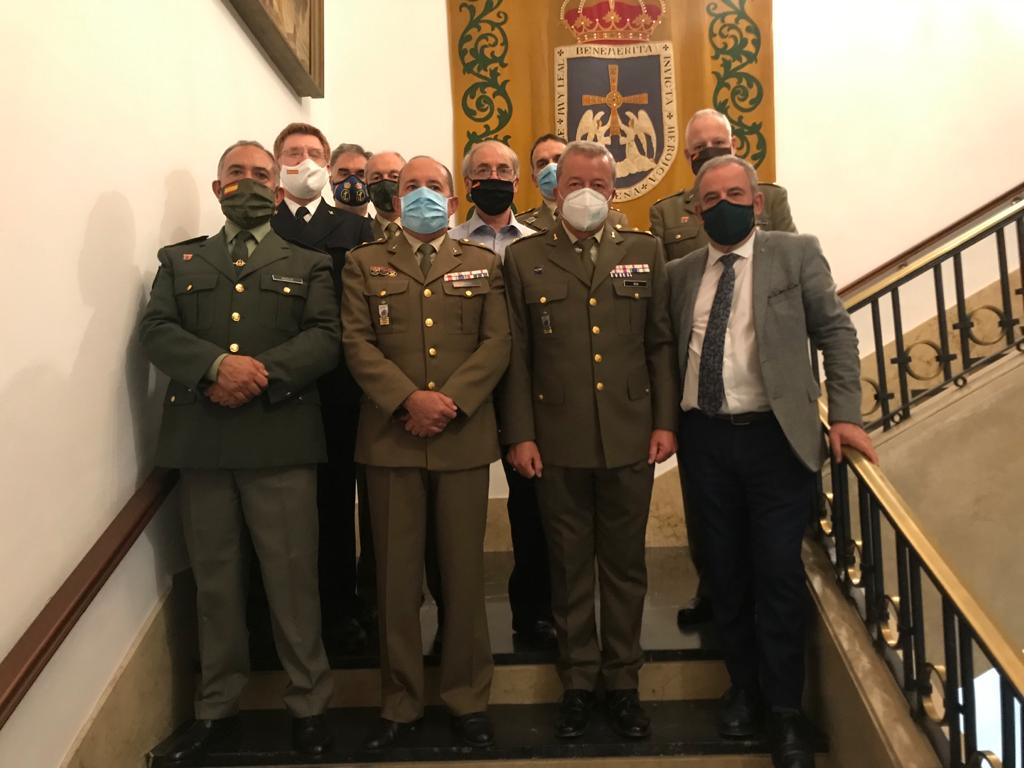 Personal de la DD y Reservistas Voluntarios que participaron en La Noche Blanca.